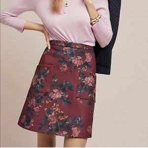 Anthropologie Mindy Mini Skirt NWT 14 Eva Franco